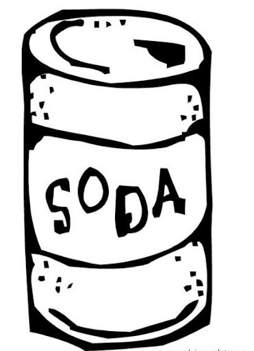 no soda coloring pages - photo#8