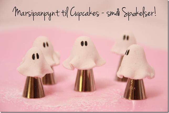 halloween cupcakes marsipan pynt