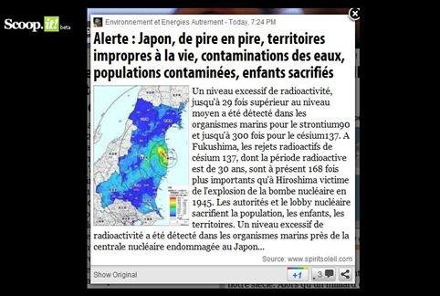 Alèrta Fukushima novèla