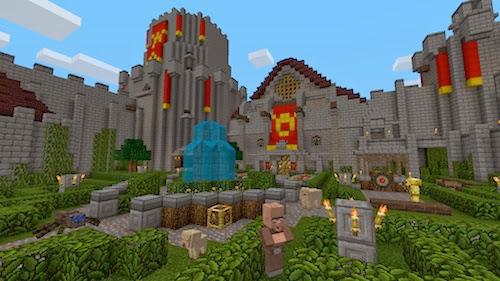 Minecraft xbox360 Fantasy texture