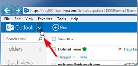 how to get the skydrive Start menu