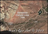 Map-Sandstone Canyon Loop Trails