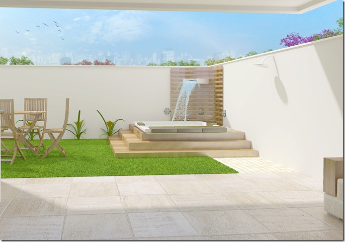 Projeto residencial  Sorocaba - área de lazer