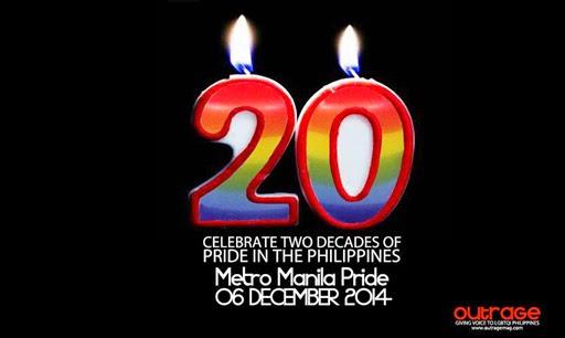 Metro Manila Pride Turns 20