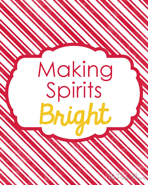Making Spirits Bright Candy Cane