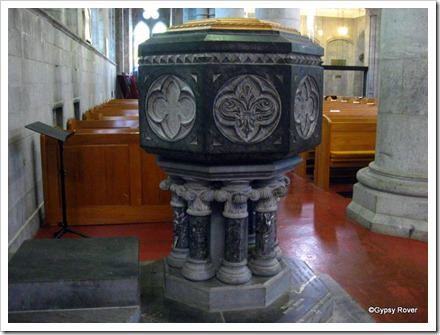 The Font, Nelson Cathedral.