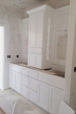 Week 31-Master Bath Cabinets
