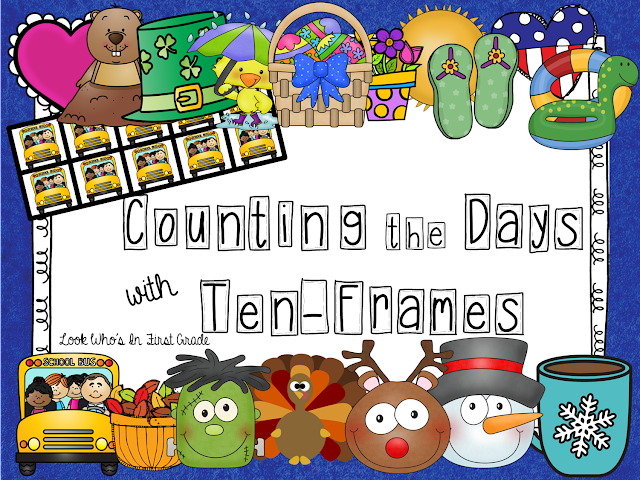 Counting the Days with Ten-Frames
