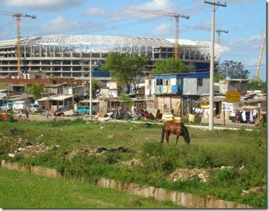 Favela arena Gremio