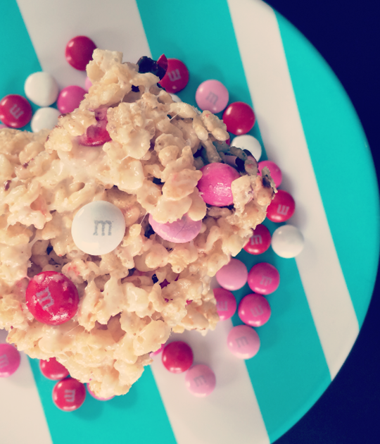 Valentine Krispie Treats | Shan Made
