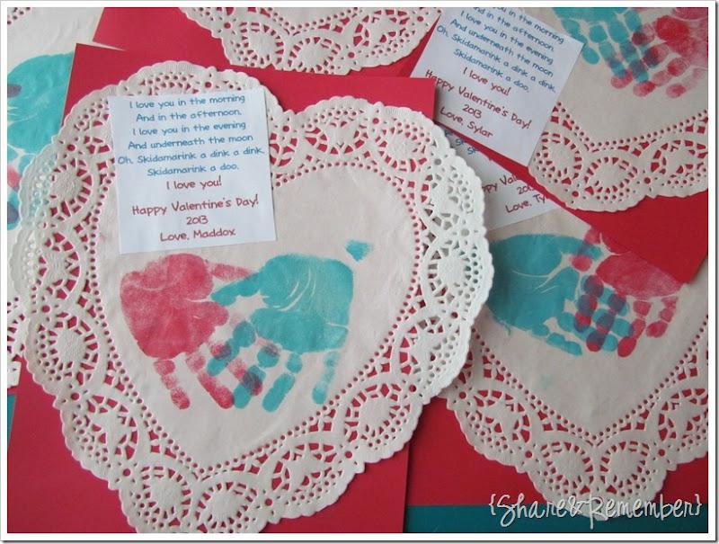 preschool valentines for parents