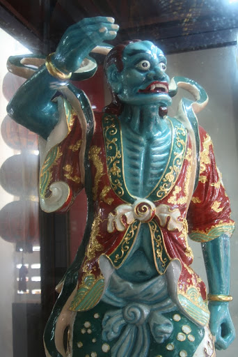 The green faced assistant of Thien Hau, Goddess of the Sea.