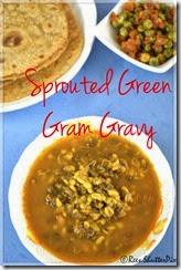 Ree Kasirajh - Sprouted Green Gram Gravy