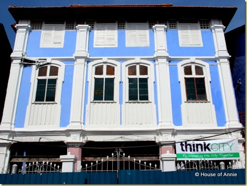 Refurbishing a Penang Shophouse