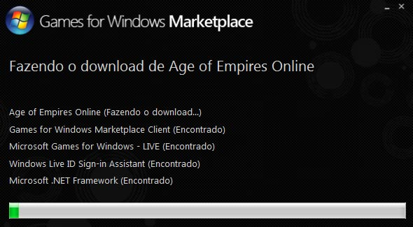 Instalador do age associado ao marketplace.
