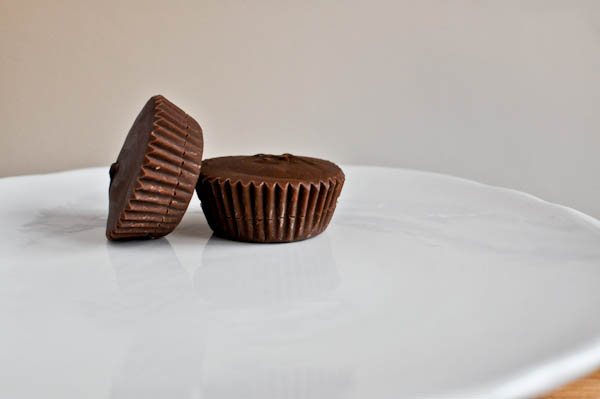 Homemade Chocolate Caramel Cups
