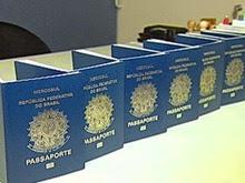 Posto de emissão de passaporte no Vale Sul Shopping