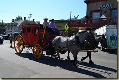 Stagecoach comes to town
