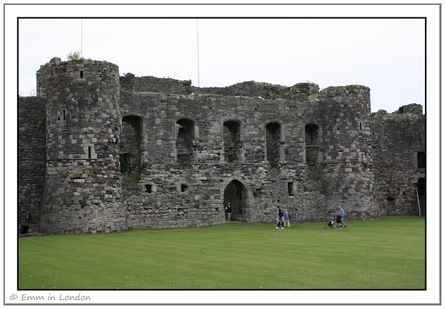 View of north gatehouse Beaumaris