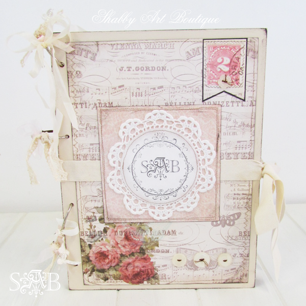 Shabby Art Boutique - blog planner 9