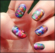 Nageldesign Faschingsnägel 6