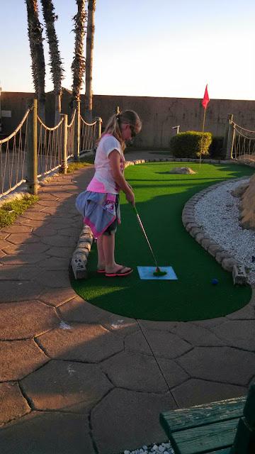 Miniature Golfing