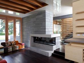 Decoracion-sala-moderna-con-chimenea