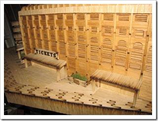yankee stadium matchsticks