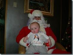 Christmas 2010 - G with Santa 1