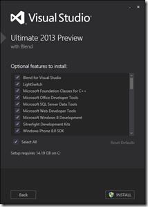 Install VS 2013 2