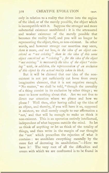 Bergson. Creative Evolution. 1911 creativeevolutio00berguof.test.t_Page_316