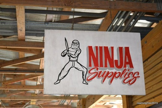 Ninja Supplies?