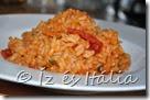 Rizs, rizottó, ételek paradicsommal
