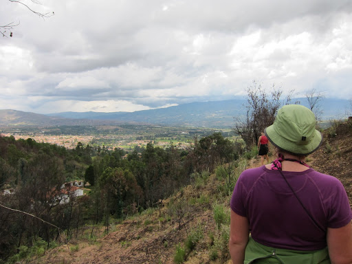 Overlook of the Villa de Leyva valley