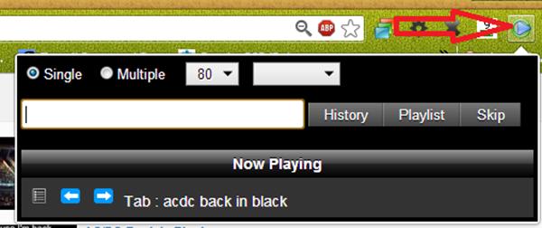 Youtube ListPlayer, une super extension chrome pour créer des play lists et écouter la musique via YouTube