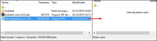 Como recuperar o backup do seu site no Joomla 2.5 - Visual Dicas