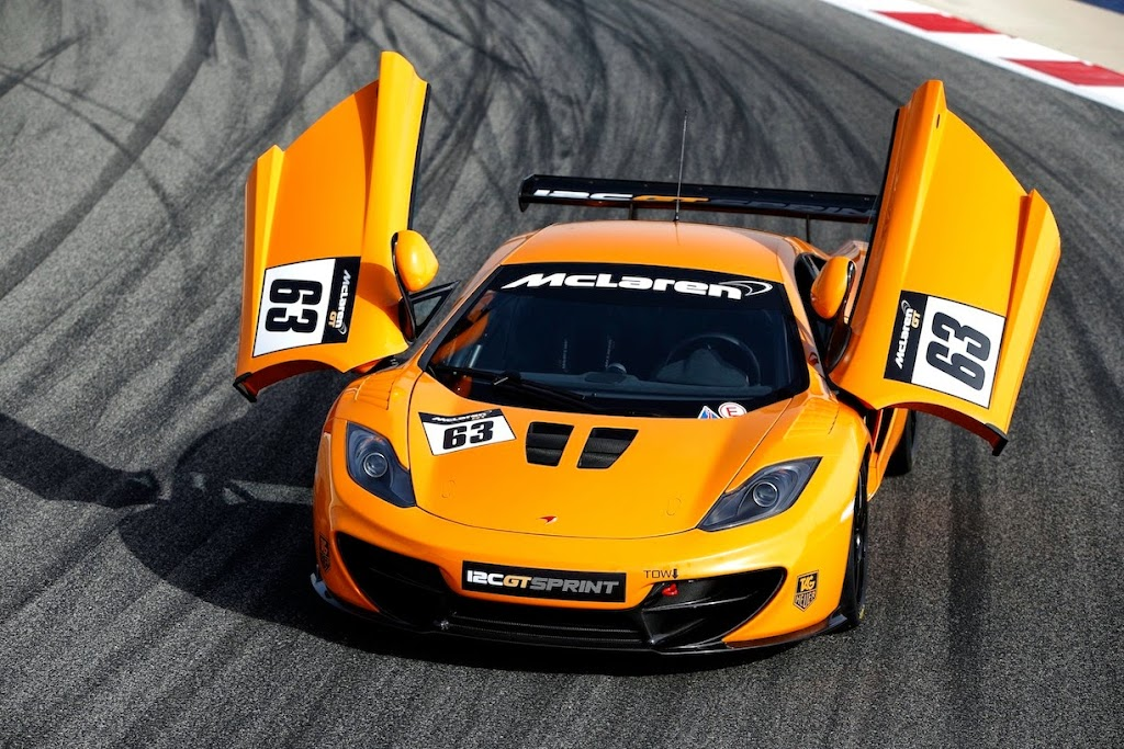 McLaren 12C GT Sprint: Details on McLarens Newest Track Car