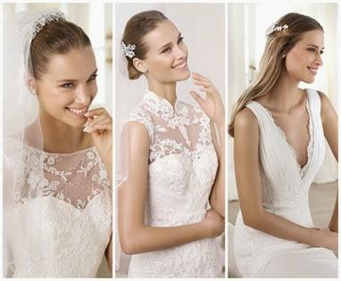 Tendências de vestido de noiva para 2014