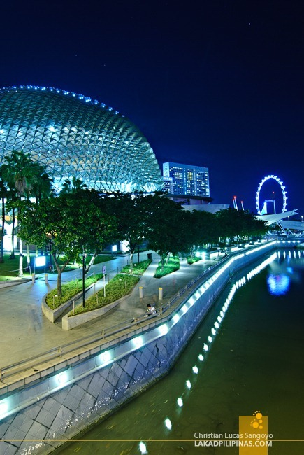 Theatres on the Bay at Singapore's Marina Bay