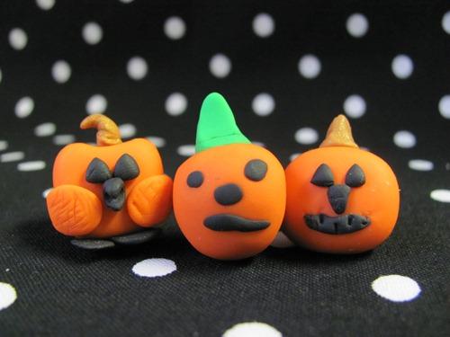 sculpey pumpkins