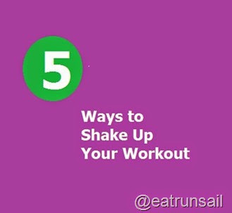 5 Ways to Shake Up Your Workout