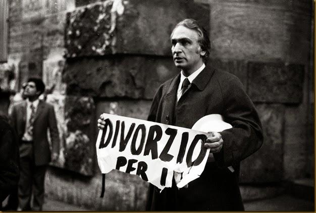 Il Leader storico del Partito Radicale, Marco Pannella