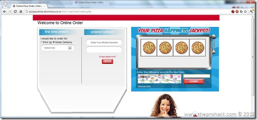 Go to Dominos Coupon Generator