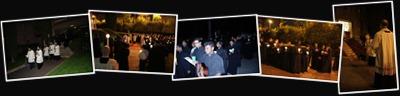 View La processione Eucharistica