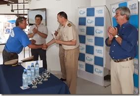 Se entregaron certificados a pescadores artesanales