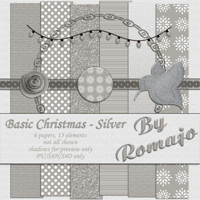 Basic Christmas - Silver