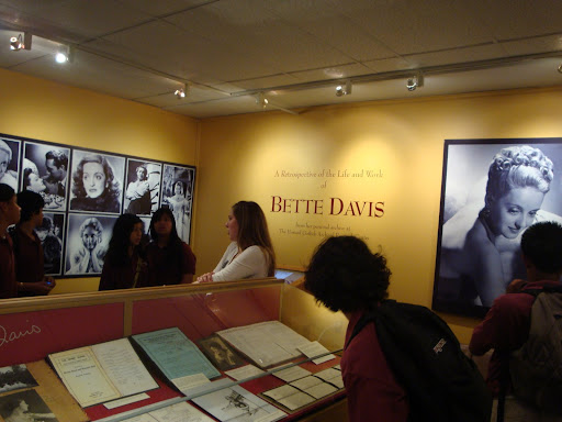 Bette Davis exhibit at BU's library