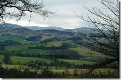 view across tweeddale