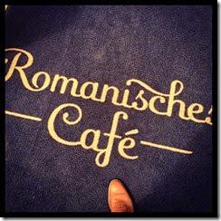Romanisches Café Fußmatte Graf von Blickensdorf