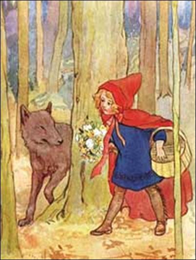 roodkapje Margaret Winifred Tarrant(1888-1959)